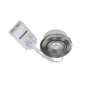 LED alasvalo FTLIGHT PALLAS 6W IP44 himm. 38° 450lm 3000K kromi