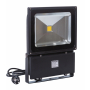 SUPERTARJOUS! LED valonheitin 100W PREMIUM ,Meanwell, 230V, 7500lm, 4500K, 120 ast, IP65,  MUSTA