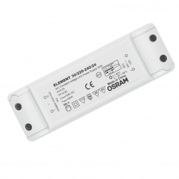 LED muuntaja OSRAM 30W 24V IP20, 140x45x27,5mm_772430