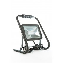 LED CSPOT valonheitin 30W BLACK + jalustalla_6369