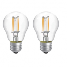 LED Filament 2PACK 6W  kirkas E27,  2700K_6313